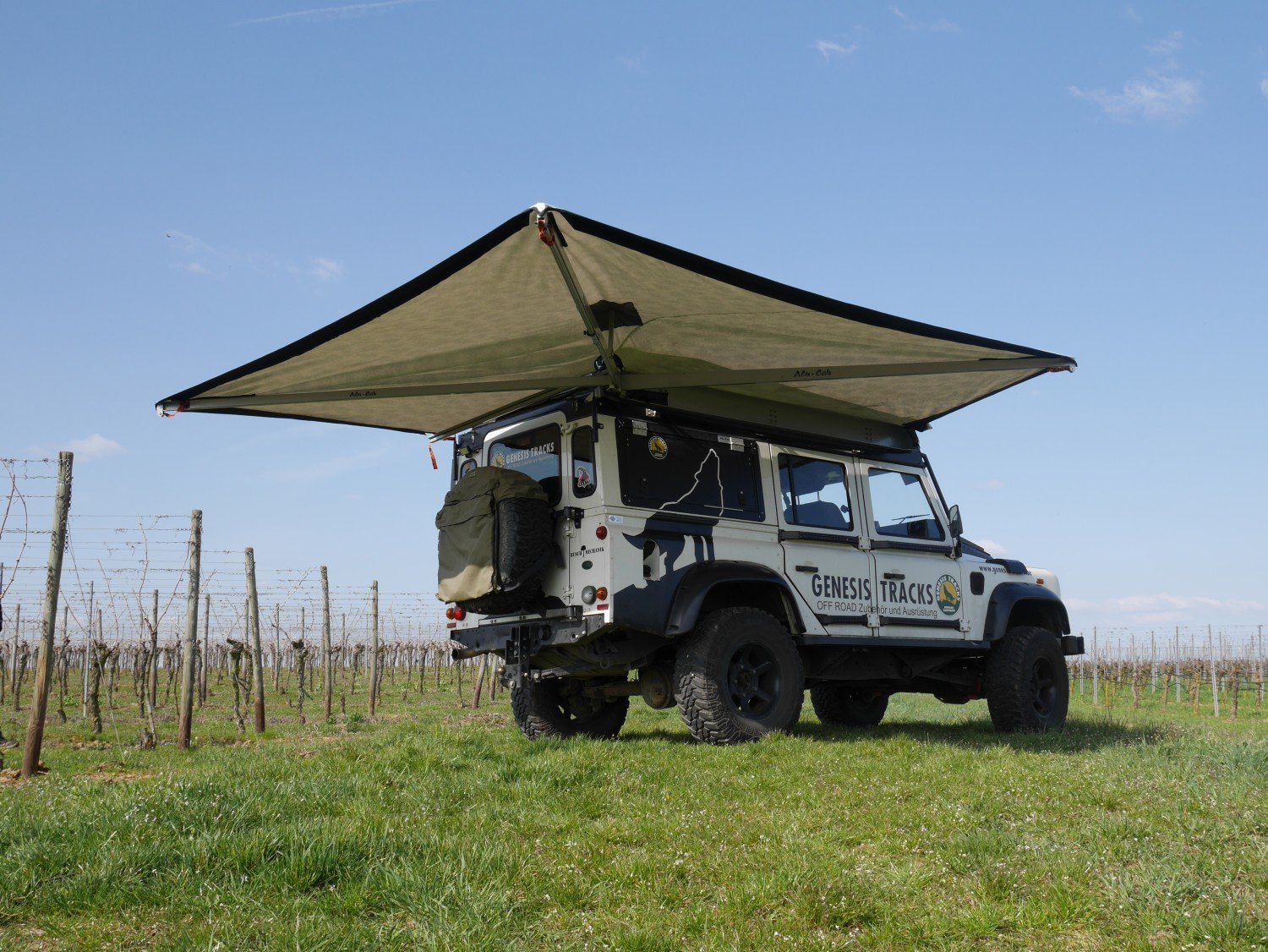 270 Grad Markise Alucab World Of Nanook Offroad And