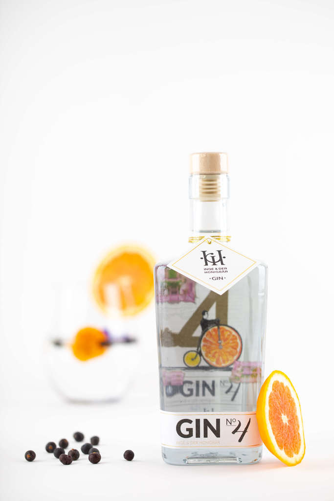 Gin No. 4 - Salbeiblüte & Orange