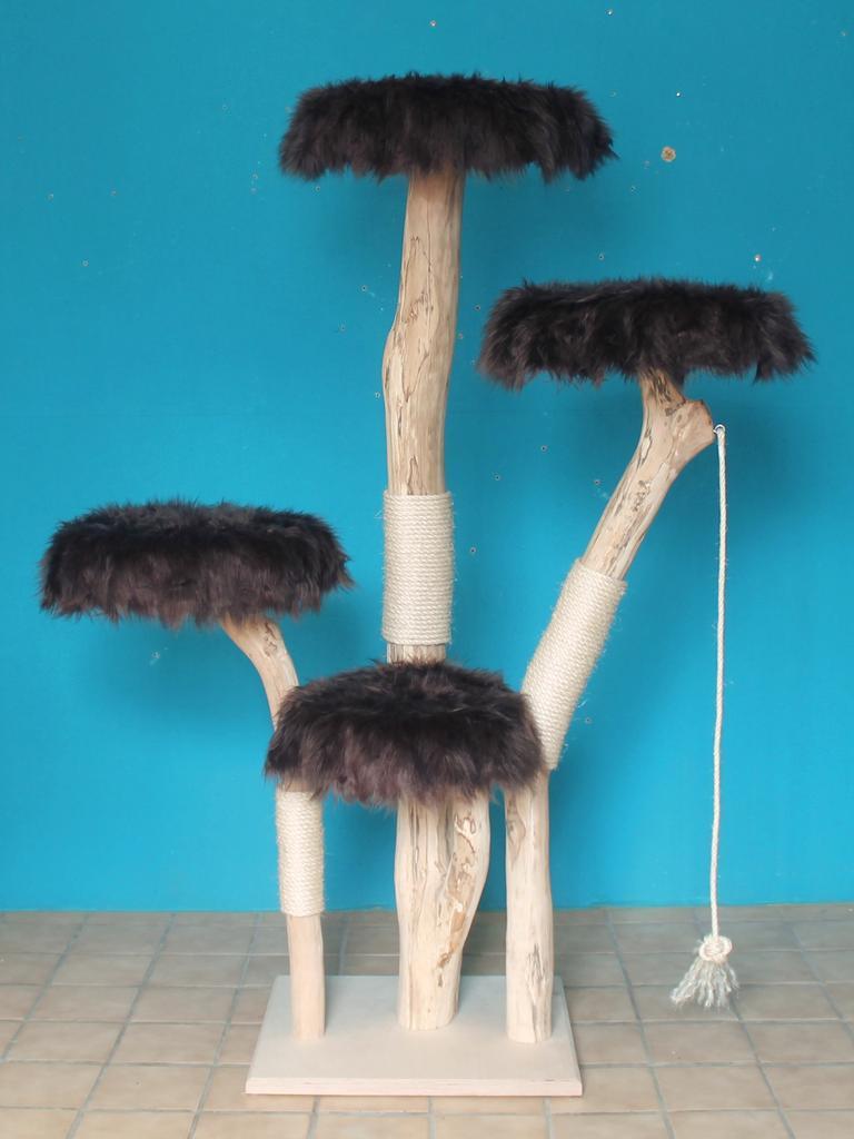 kratzbaum naturholz 184 cm naturkratzbaum 0699 diworo. Black Bedroom Furniture Sets. Home Design Ideas
