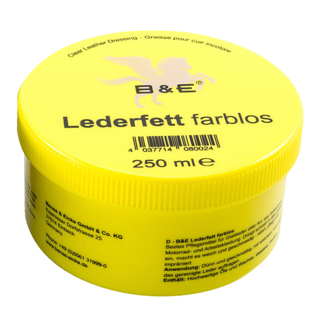 B&E Lederfett 250ml