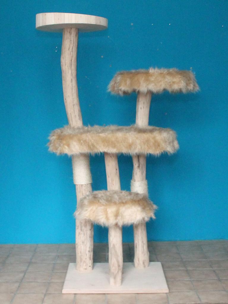kratzbaum naturholz 195 cm naturkratzbaum 0604 diworo. Black Bedroom Furniture Sets. Home Design Ideas