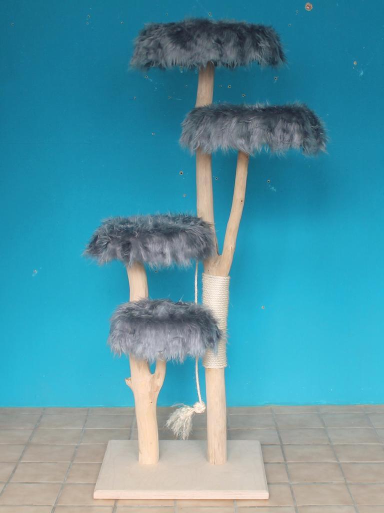 kratzbaum naturholz 165 cm naturkratzbaum 0684 diworo. Black Bedroom Furniture Sets. Home Design Ideas
