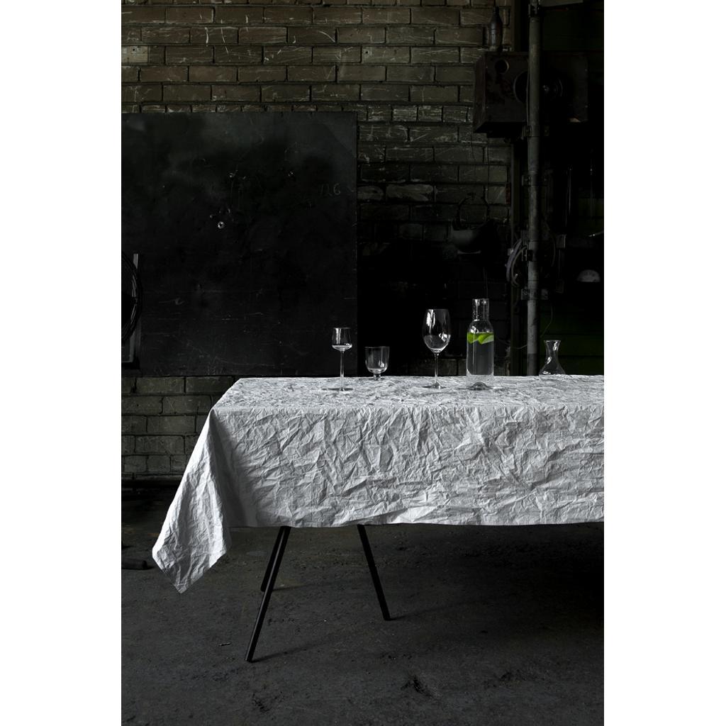 tischdecke gartentischdecke b gelfrei wei 250x150 cm. Black Bedroom Furniture Sets. Home Design Ideas