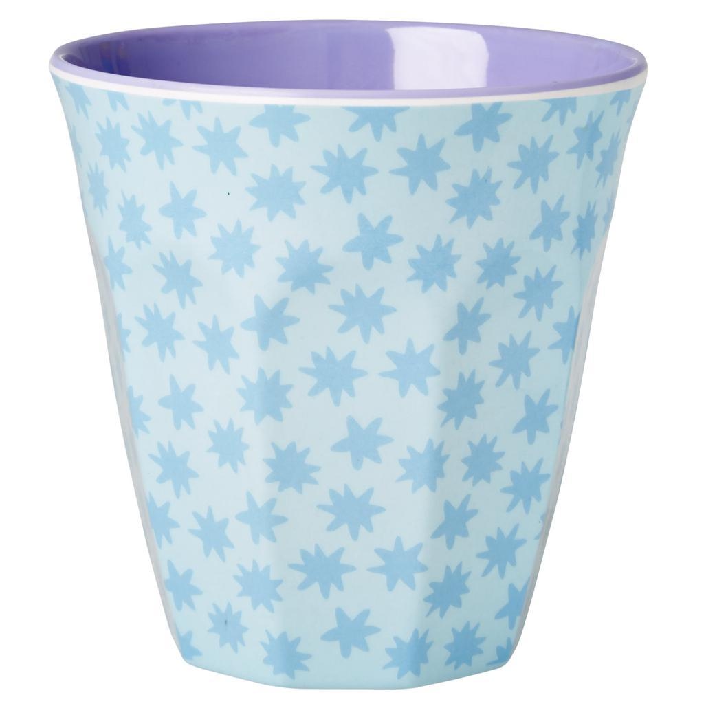 Kinderzimmer sterne blau  RICE A/S Rice - Melamin Becher mit Sterne Print blau - Küche kaufen ...