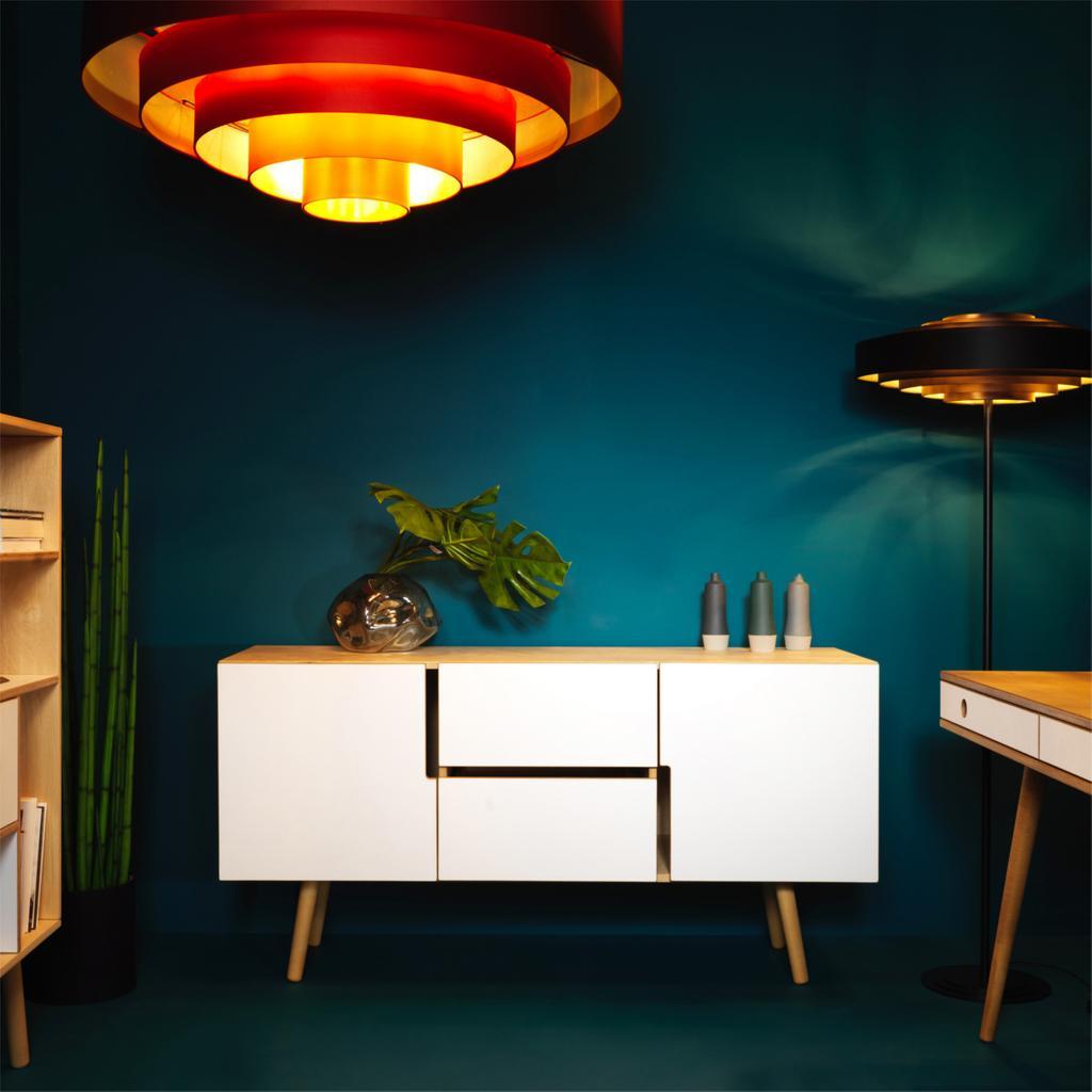 sideboard aus holz mit schubladen jetzt online kaufen. Black Bedroom Furniture Sets. Home Design Ideas