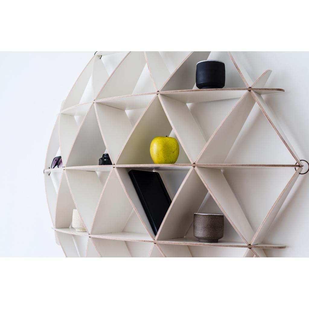 wandregal comb wei birkenholz nordisches design. Black Bedroom Furniture Sets. Home Design Ideas