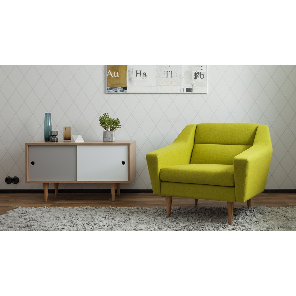 Lounge Sessel Design gelb