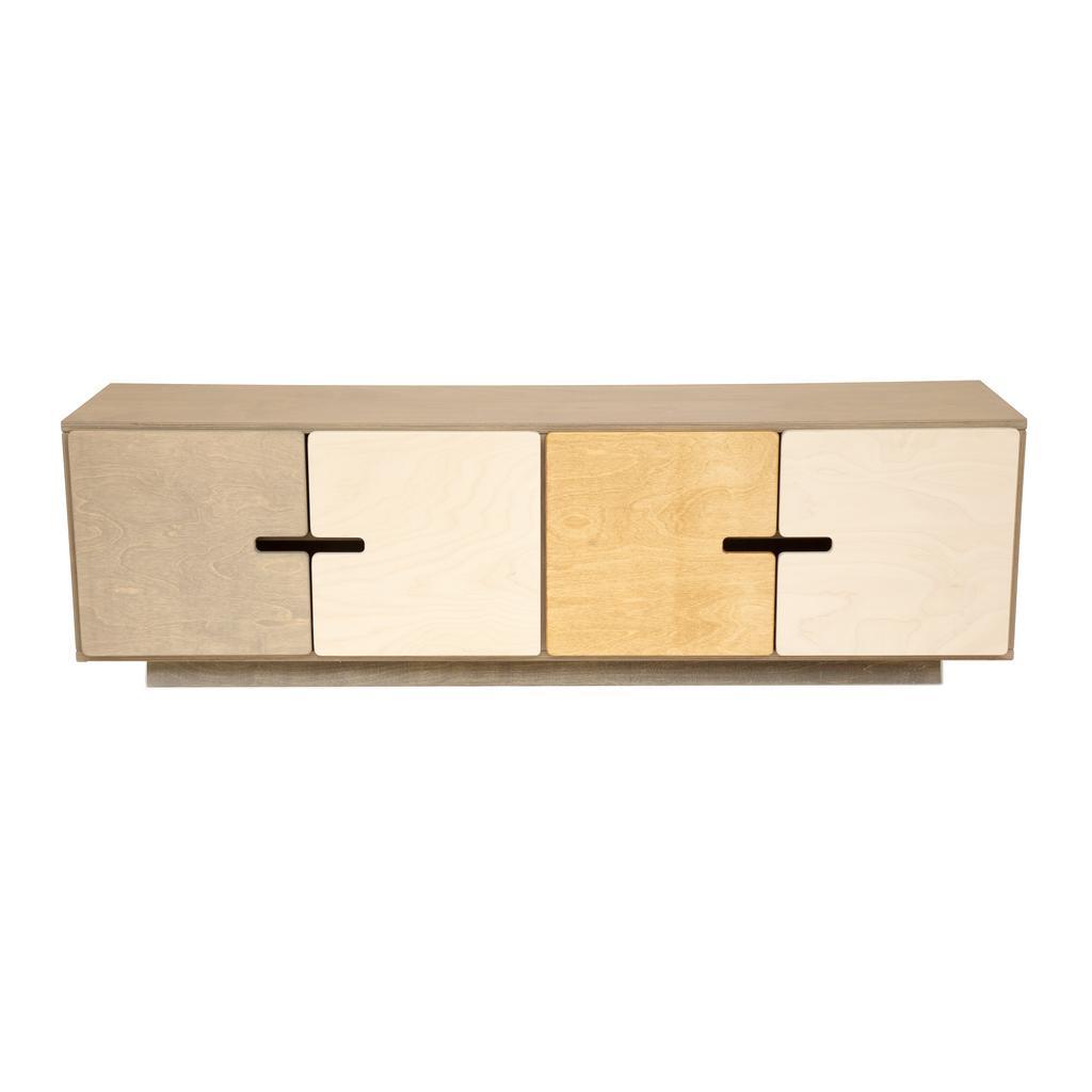 Tv Board Aus Birkenholz Skandinavisches Design