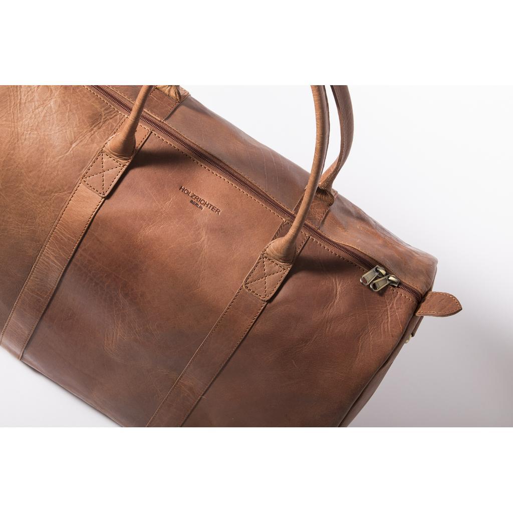bowling bag ledertasche brauner weekender no 10 reisetasche aus leder. Black Bedroom Furniture Sets. Home Design Ideas