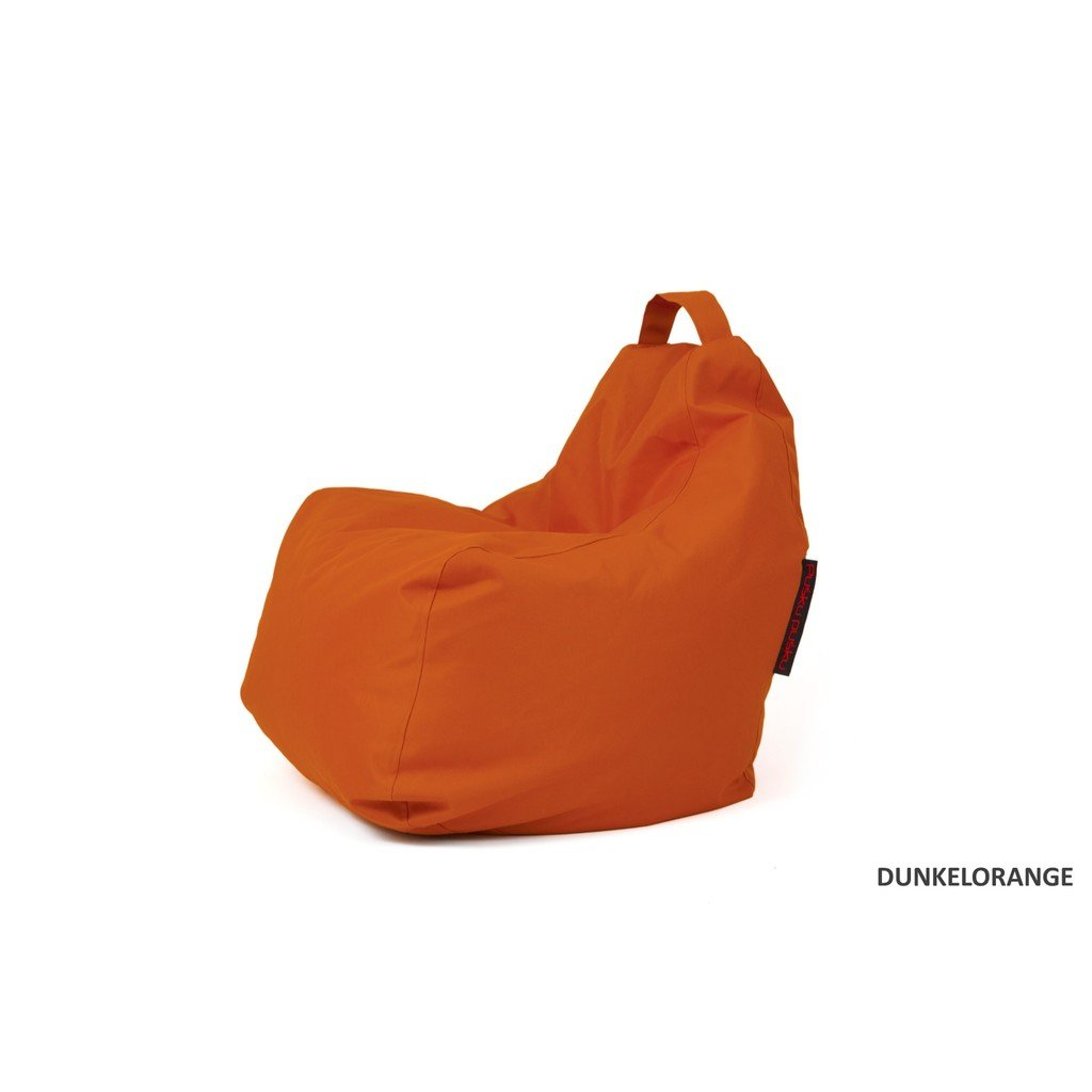 Sitzsack Outdoor groß orange