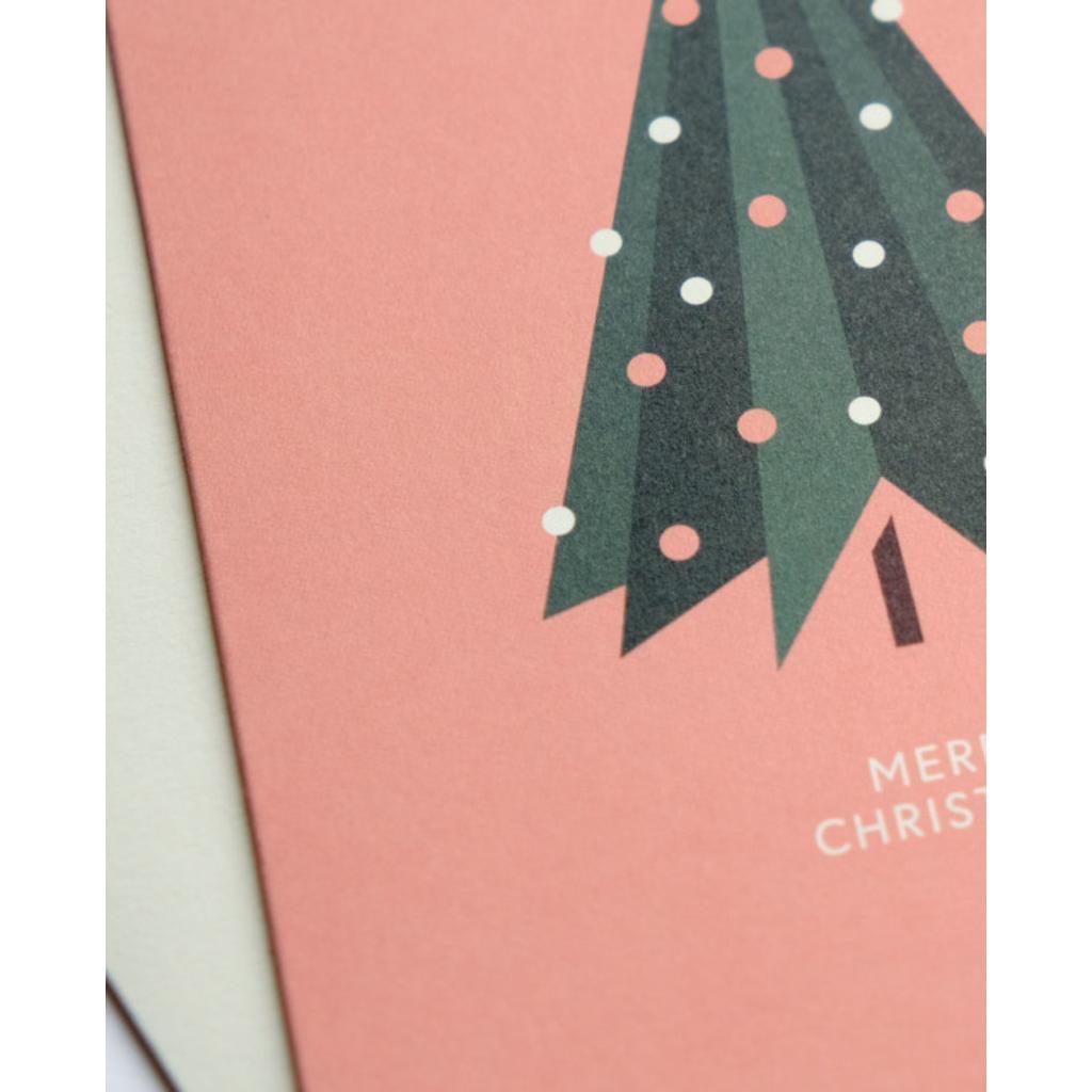 Hochwertige Weihnachtskarten.Weihnachtskarte Pretty Tree