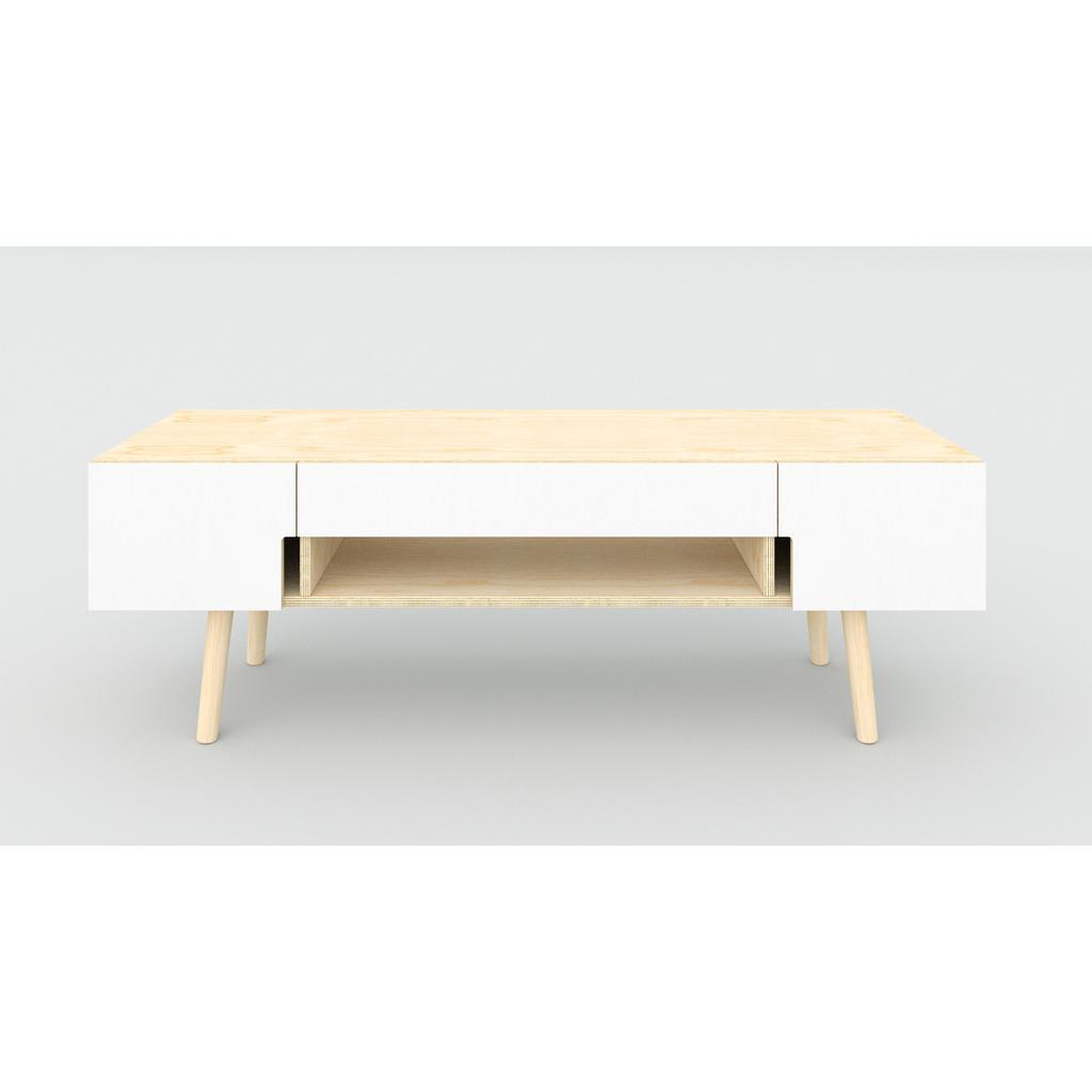 Tv Unterschrank Aus Birkenholz Skandinavisches Design