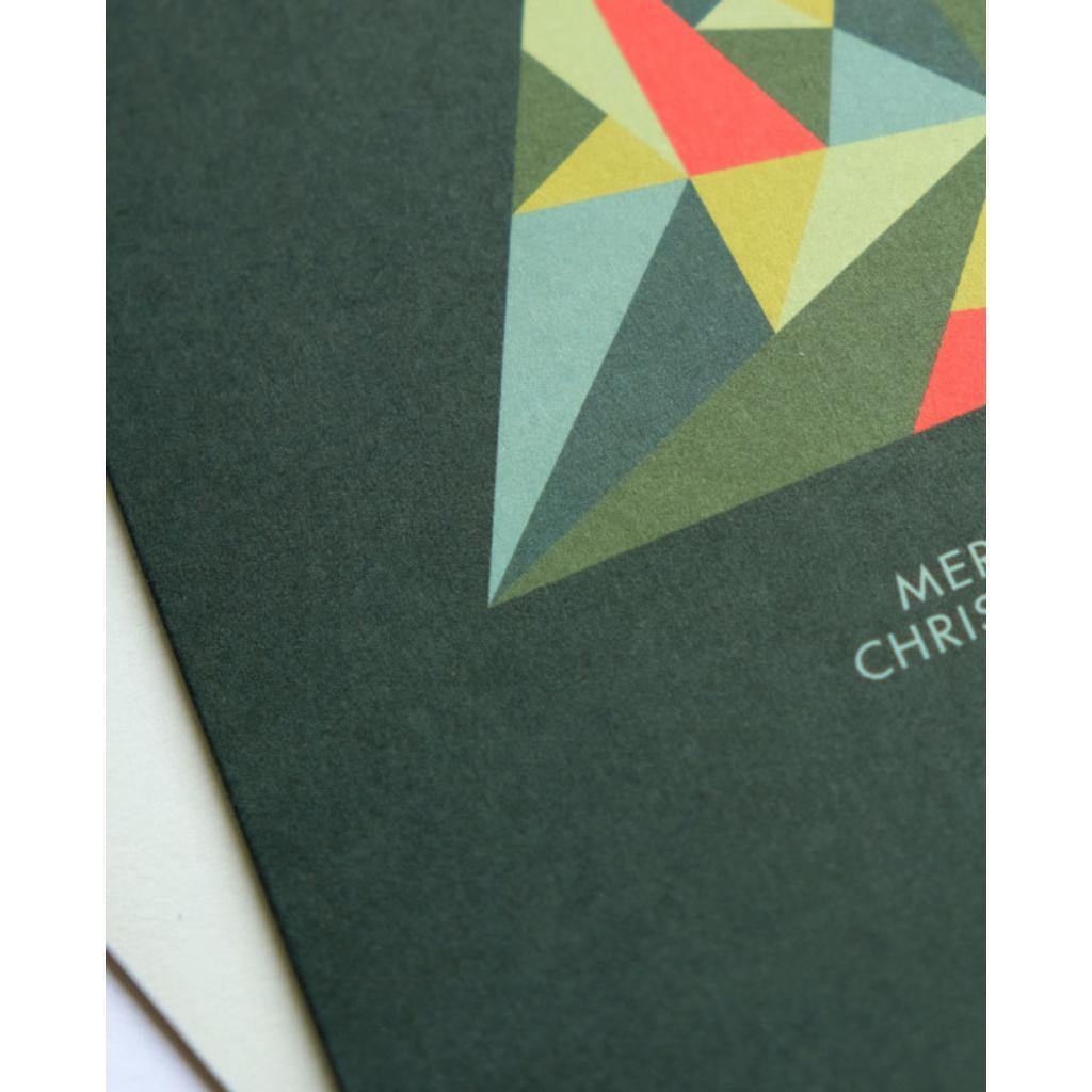 Weihnachtskarten Set Günstig.Weihnachtskarte Crystal Tree