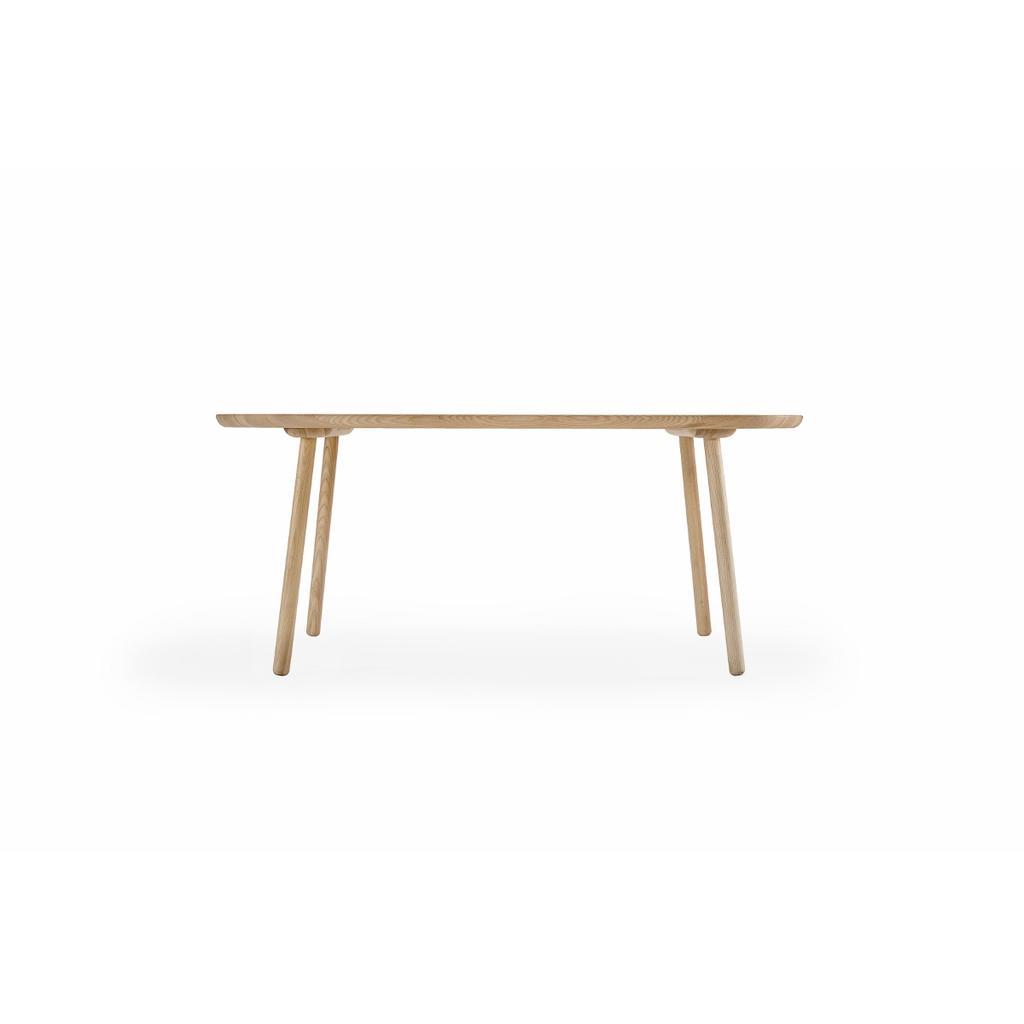 Ovaler Esstisch O 180 Cm Aus Massivholz Emko