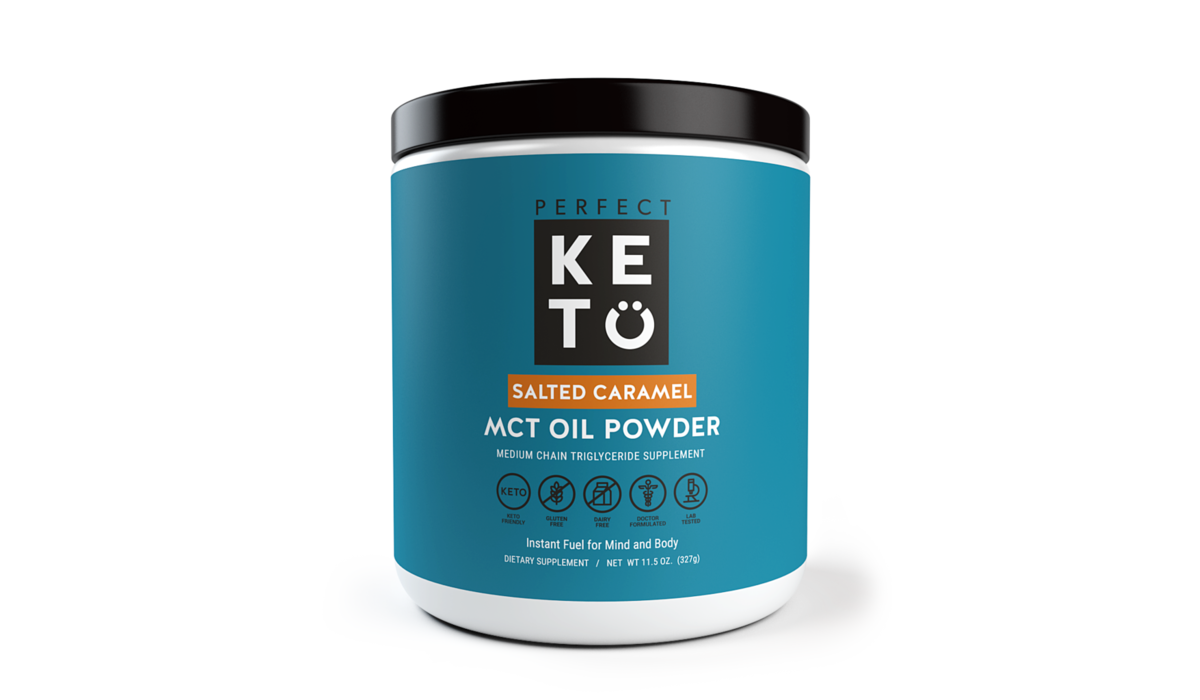 perfect KETO MCT Öl Pulver  | Salted Caramel