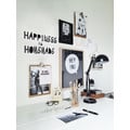 Wandsticker HAPPINESS IS HOMEMADE Typo Schriftzug
