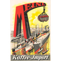 Advertising poster 1922 Meinl Kaffee