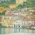 GUSTAV KLIMT: Malcesine on Lake Garda