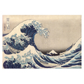 Thirty-six Views of Mount Fuji Under the Wave at Kanagawa