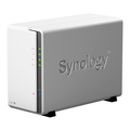 Synology DS218j incl. 6TB (2 x 3TB) WD RED NAS RAID Server Bundle