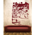 XXXL Berlin Wall Art Wandtattoo