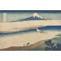 Thirty-six Views of Mount Fuji Tama river in Musashi province
