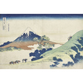 Thirty-six Views of Mount Fuji Inume mountain Pass in Kai province