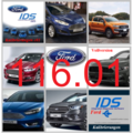 Ford IDS 116.01 + Kalibrierung C 81 Vollversion, Diagnosesoftware, Stand 12.2019