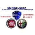 Fiat Multiecuscan 3.9R1 incl. Patch, Mehrsprachig Version vom 27.11.2017, Multiecuscan = Multi-ECU Scan