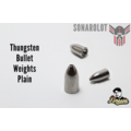 Tungsten Bullet Weights Plain Bullet Weights Plain 1/4 Oz = 7,2g