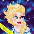 Elsa Frozen - Disney - Diamond Painting pakket - Vervaco