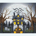 Halloween Manor - Borduurpakket met telpatroon Orcraphics