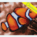 Clownfish - Diamond Painting pakket - Diamond Art Pakket met vierkante diamantjes