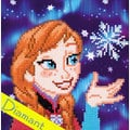 Anna Frozen - Disney - Diamond Painting pakket - Vervaco