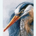 Great Blue Herons - Lanarte borduurpakket met telpatroon