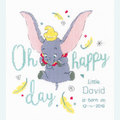 Dumbo - Oh Happy Day - Disney borduurpakket met telpatroon Vervaco