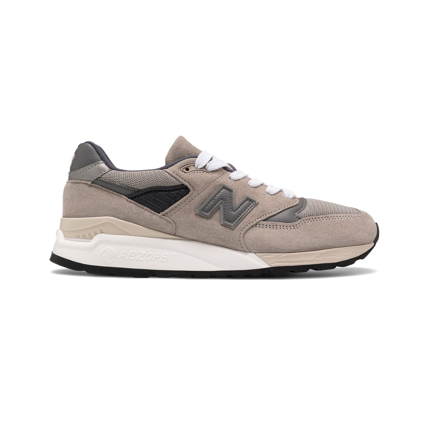 New Balance M998 - Made in USA Grey / Light Grey M998BLA