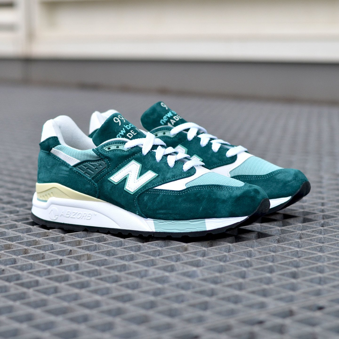 New Balance M998 Made in USA Sea Green / White M998CSAM-44.5