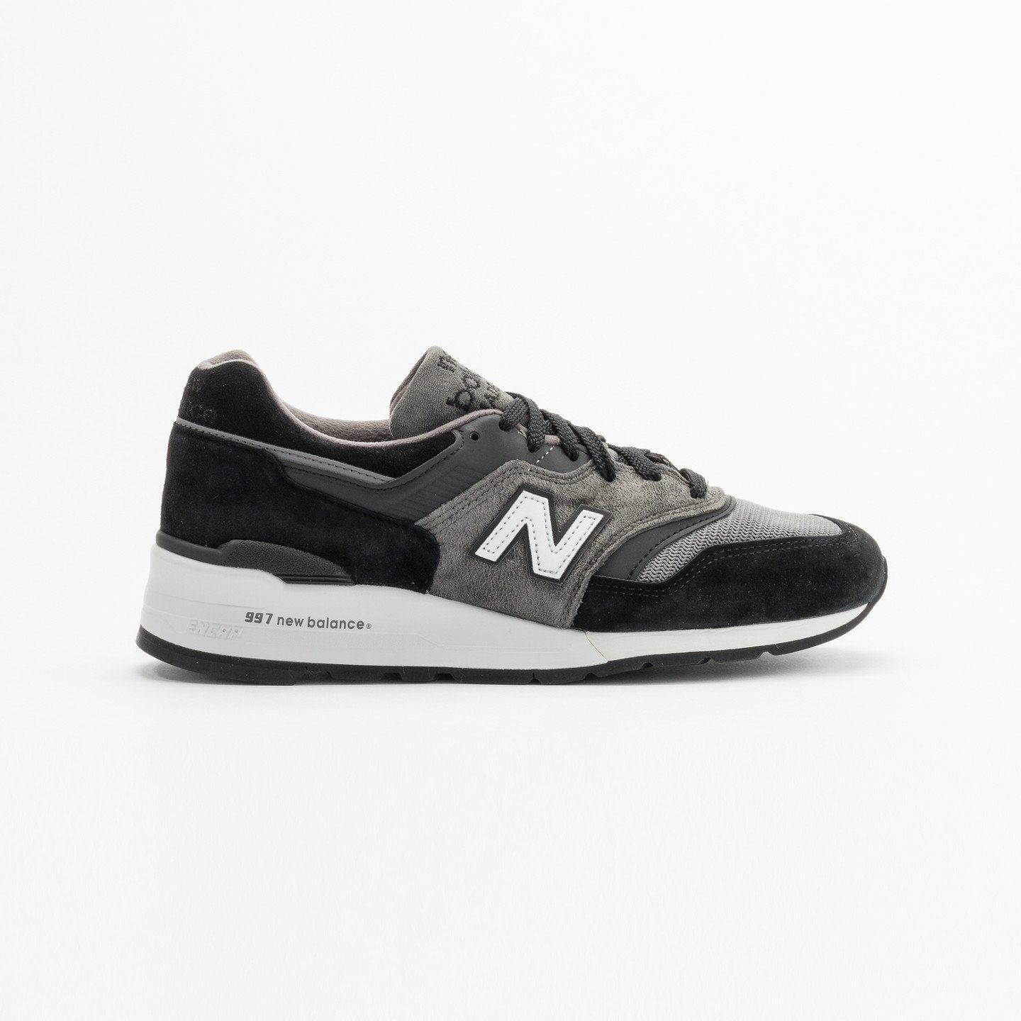New Balance M997 Made in USA Grey / Black / White M997CUR-44