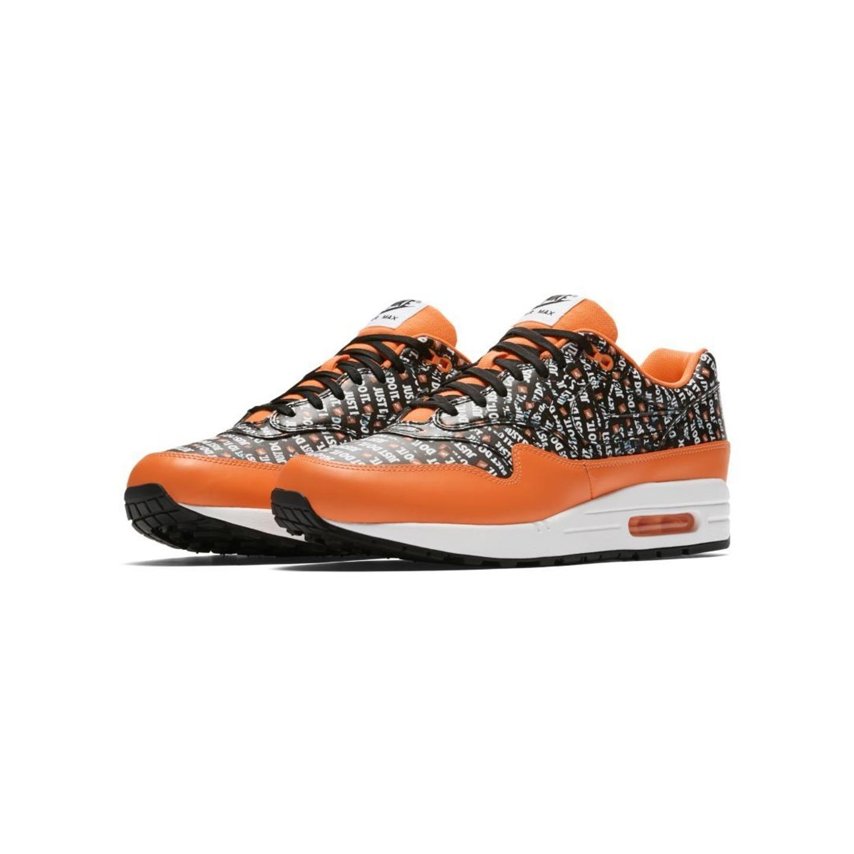 outlet on sale innovative design order Nike Air Max 1 Premium 'Just Do It' - Total Orange / Black ...