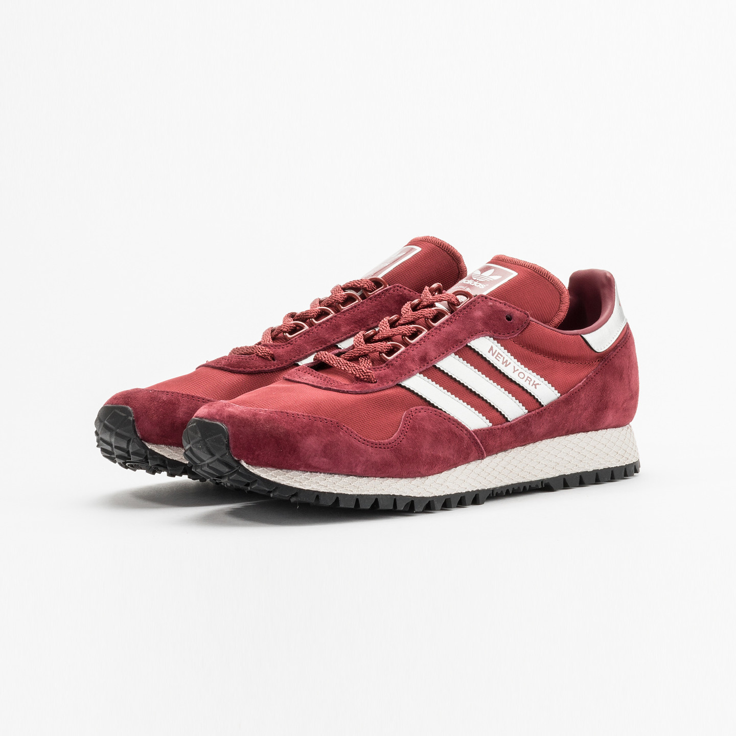Adidas New York Collegiate Burgundy  / Metallic Silver BB1189