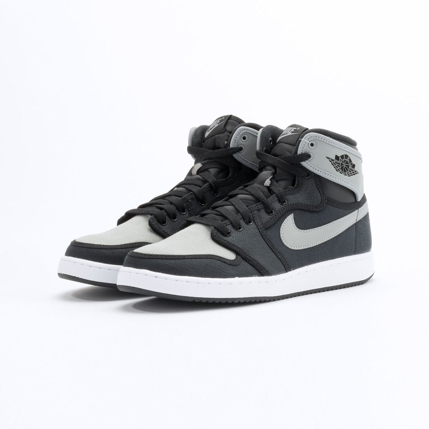 Nike Air Jordan 1 KO High OG Black / Shadow Grey / White 638471-003-44