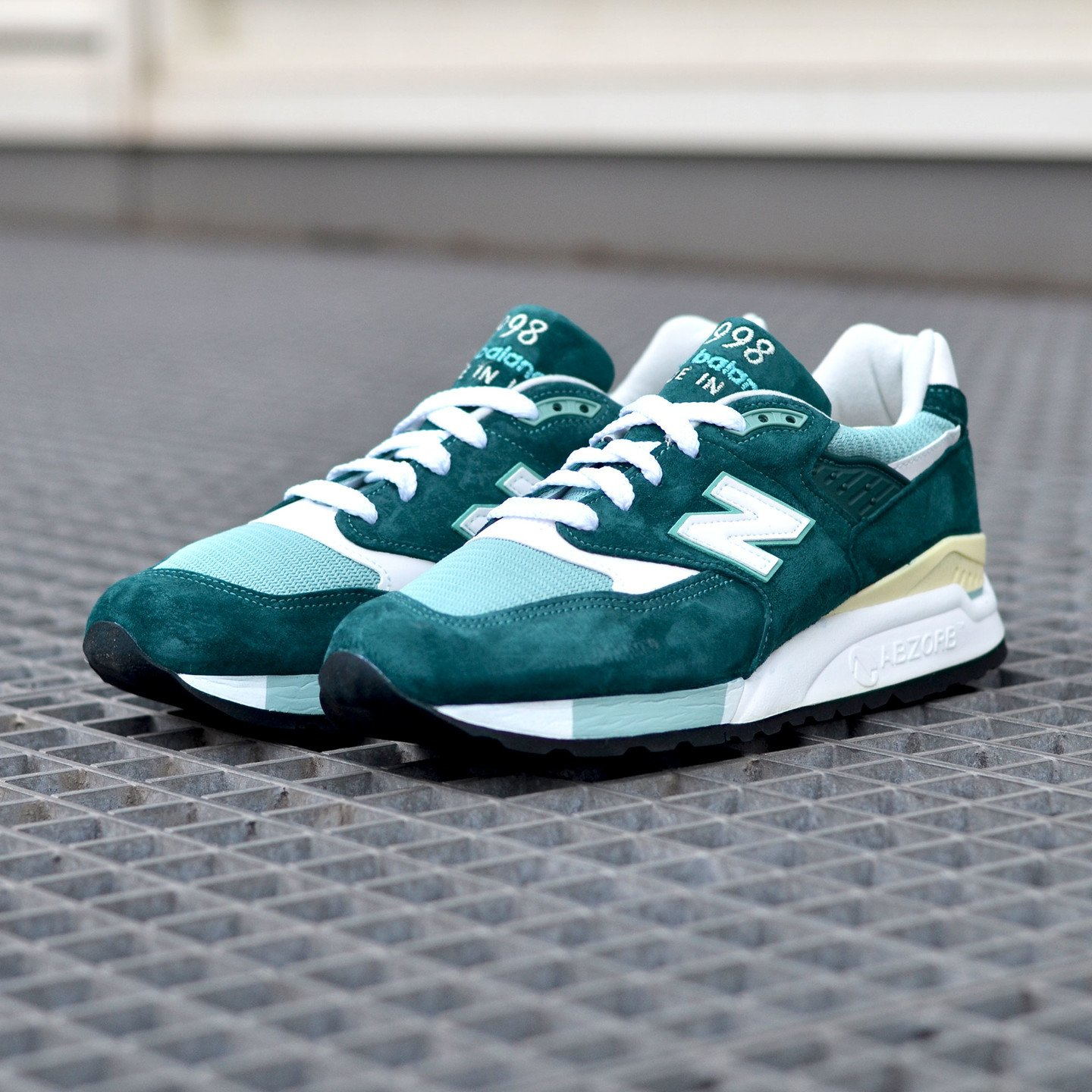 New Balance M998 Made in USA Sea Green / White M998CSAM-41.5