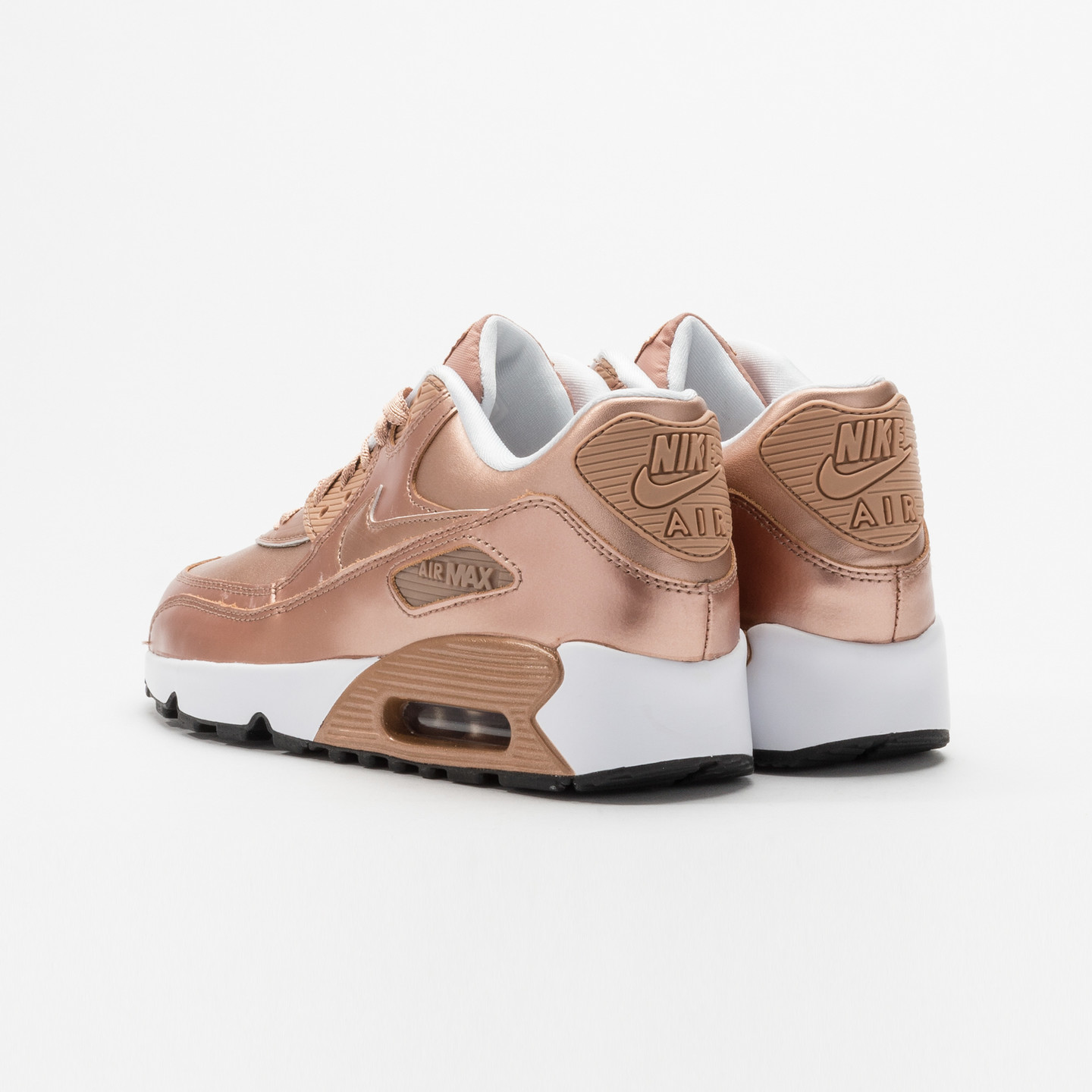 Nike Air Max 90 SE Leather (GS) Metallic Red Bronze 859633-900-36