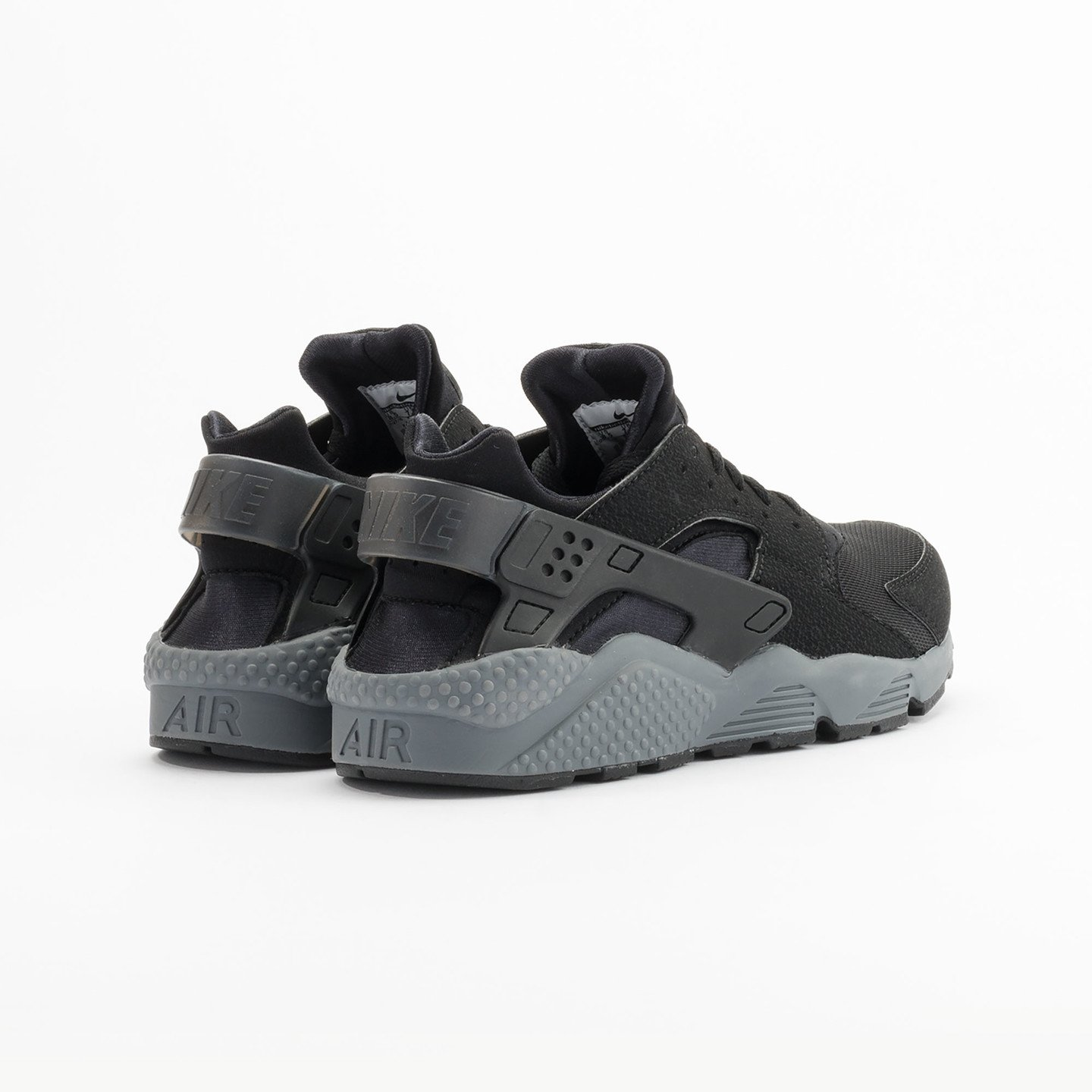 Nike Air Huarache Black / Dark Grey 318429-010-47.5
