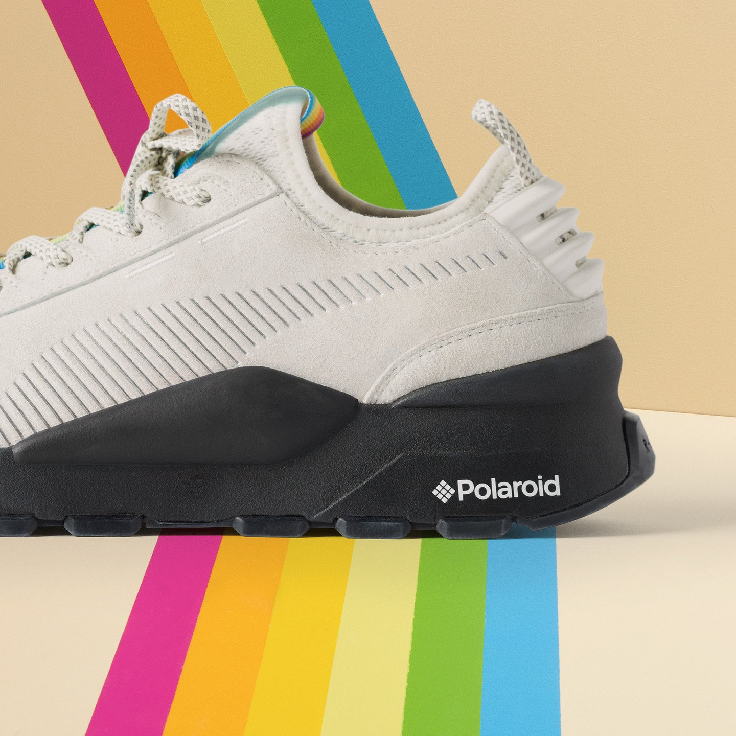 Puma RS-0 x Polaroid Marshmallow / Puma Black 368436 01