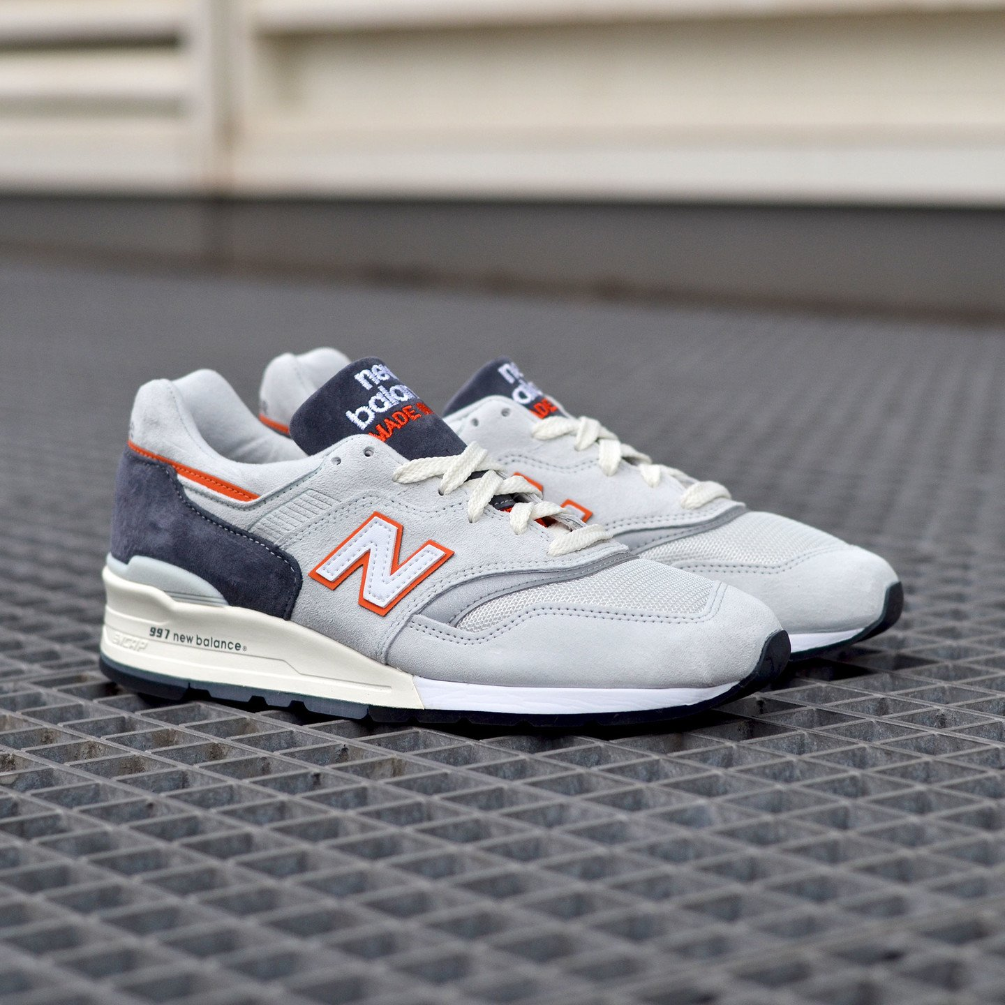 New Balance M997 Made in USA Grey / Orange M997CSEA-45