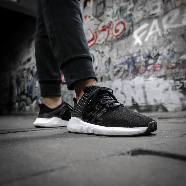 adidas eqt support 93 17. adidas eqt support 93/17 core black / ftwr white bb1236 eqt 93 17
