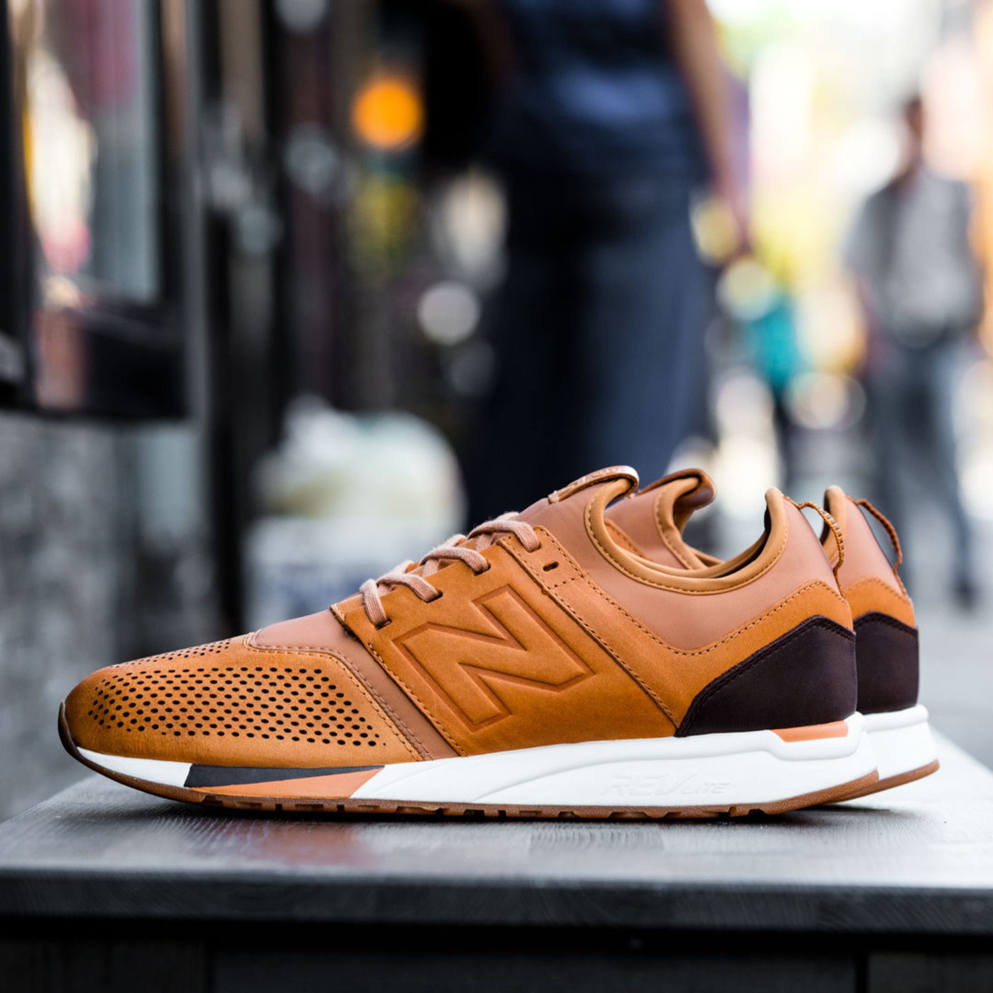 New Balance MRL 247 'Luxe Pack' Tan / Cream / Dark Brown MRL247TA-45.5