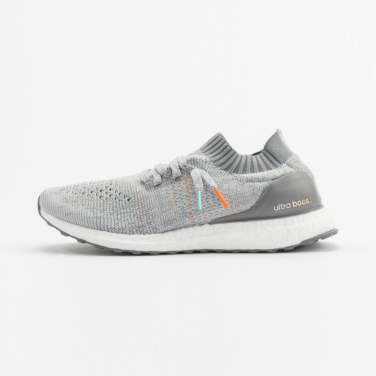 Adidas Ultra Boost Uncaged 'Miami Dolphins' Clear Grey / Mid Grey / Orange / Aqua BB4489-45.33